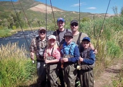 Family Fly Fishing Trip