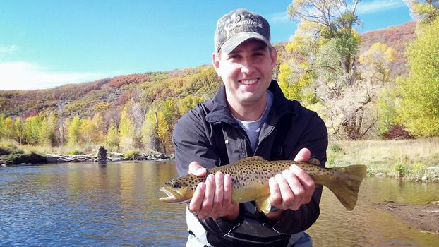 Fly fishing weber river park city on the fly for Weber river fishing report
