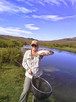 Fly Fishing Guide Jen