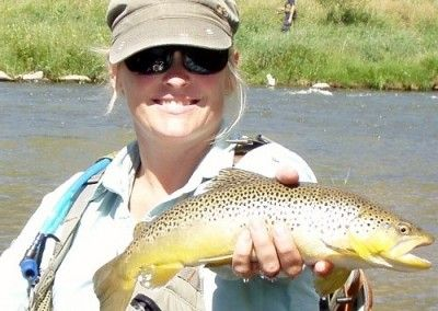 Fly Fishing Guide Jen Mihal